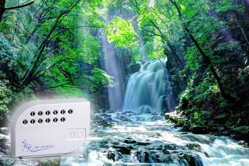 滝とマイナスイオンイメージ